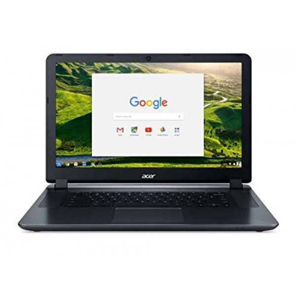 "Acer 15.6"" Chromebook-Intel Dual-Core Celeron N3060, 4GB RAM, 16GB SSD, Intel HD Graphics, Chrome OS (Manufacturer Refurbished-Grade A)"