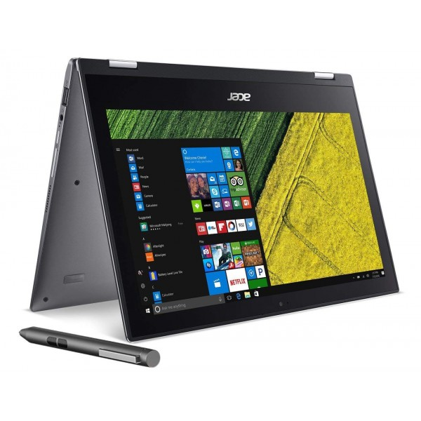 "Acer Spin 1- Convertible 2-in-1, 11.6"" FHD, IPS Touchscreen, Intel Celeron N3350 Processor, 4GB RAM, 32GB SSD, HDMI, Win10 Home (Manufacturer Refurbished-Grade A)"