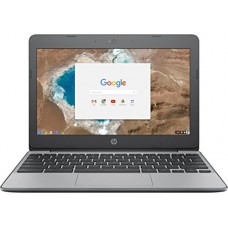 "HP 11.6"" Chromebook-Intel Dual-Core Celeron N3060, 4GB RAM, 16GB SSD, Intel HD Graphics, Chrome OS (Manufacturer Refurbished-Grade A)"