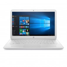 "HP Stream 14"", Intel Dual-Core Celeron N3060, 4GB Ram, 32GB SSD, Intel HD Graphics, Win10 Home-White (Manufacturer Refurbished-Grade A)"