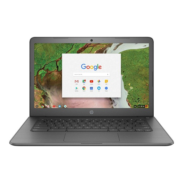 "HP 14"" Touchscreen Chromebook-Intel Celeron Dual-Core N3350, 4GB RAM, 32GB SSD, Intel HD Graphics, Chrome OS (Manufacturer Refurbished-Grade A)"